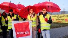 Streik Amazon in Graben am 25.3.2015