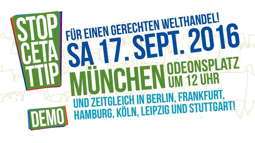 TTIP Demo München