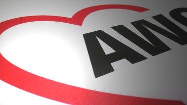 awo Logo auf Broschüre