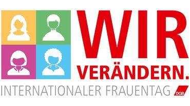 Logo Intern. Frauentag