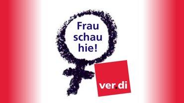 Frau schau hie - Logo