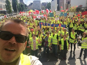 Handel - Streik in Nürnberg, 16.05.2017