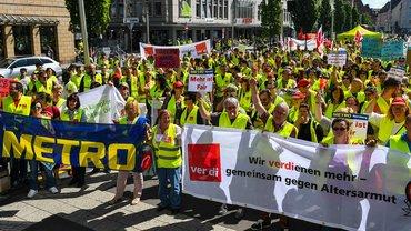 Einzelhandel Streik 2017 Bayern