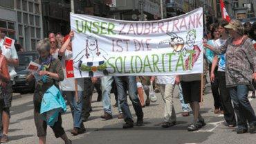 Unsere Alternative: Solidarität