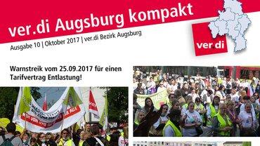 ver.di Augsburg kompakt 10/2017 Teaser