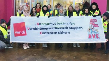 Adler Modemarkt - Streik