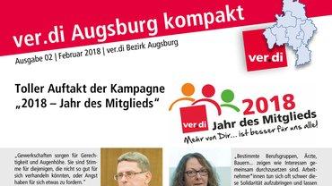 ver.di Augsburg kompakt 02/2018