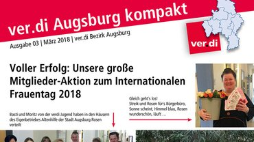 ver.di Augsburg kompakt 03/2018 Teaser