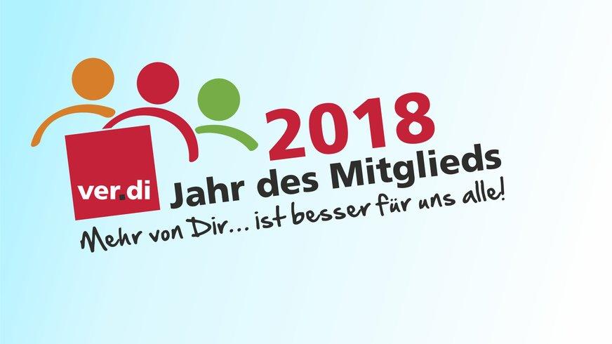 2018 Jahr des Mitglieds