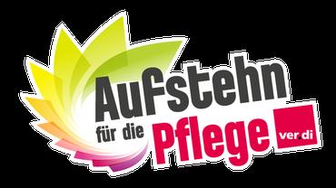 Logo Aufstehen für die Pflege