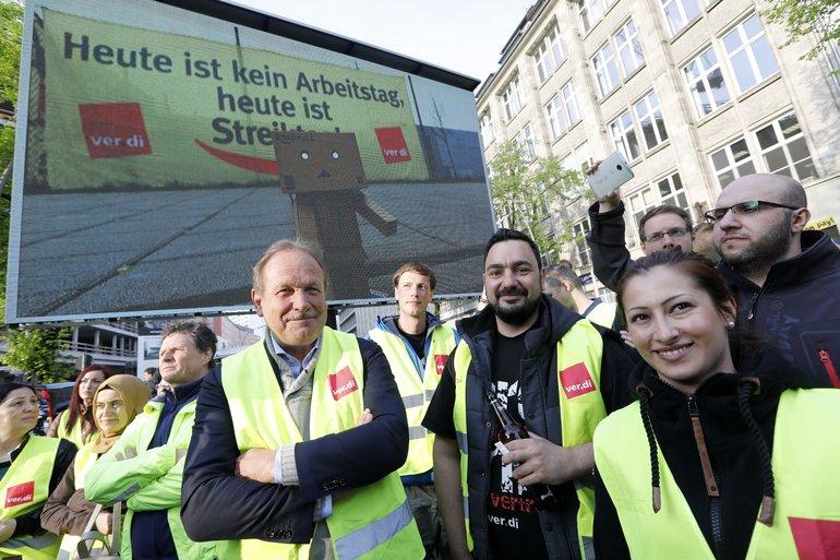 Demo in Berlin, Dienstag, 24. April 2018