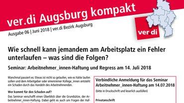 ver.di Augsburg kompakt Teaser 06-2018