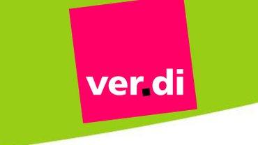 ver.di Logo auf Grün