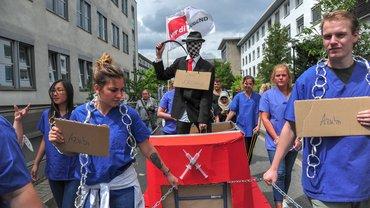 ver.di-Jugend kämpft für bessere Ausbildungssituation an Unikliniken