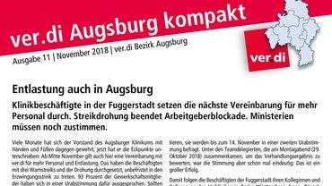 ver.di Augsburg kompakt Teaser 11-2018
