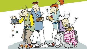 Aufruf Aktionstag Altenpflege