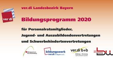 Bildungsprogramm 2020 für PR-Mitglieder