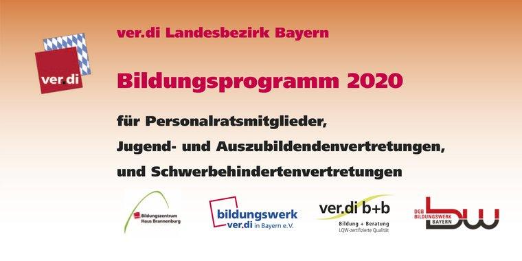 Bildungsprogramm 2020 Personalräte