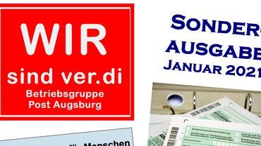 Wir sind ver.di - Betriebsgruppe Post Augsburg