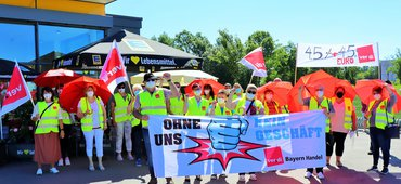 Streik bei EDEKA, 14.06.2021