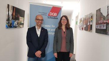 DGB-Kreisvorsitz Augsburg gewählt